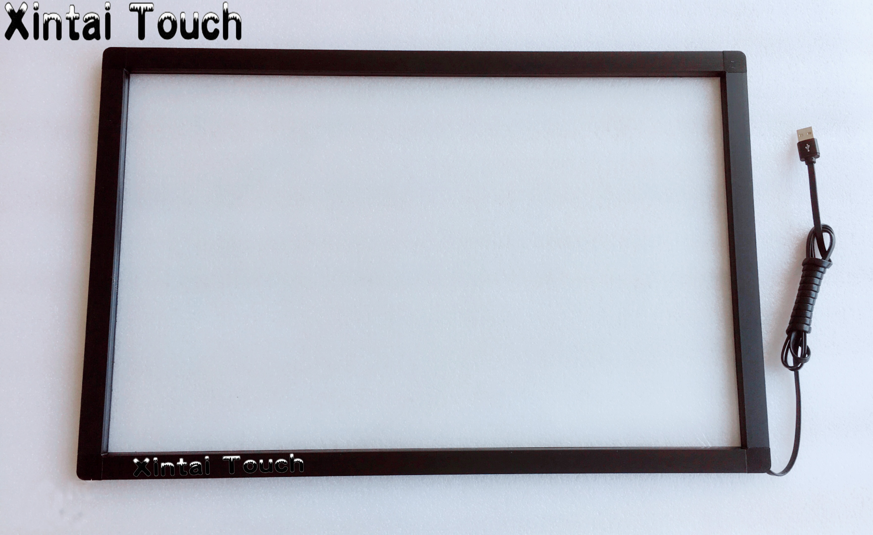 24 inch 2 points Stable Multi IR touch screen overlay kit for touch monitor/kiosk/ interactive display with glass