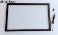 24 Inch 2 Points Stable Multi IR Touch Screen Overlay Kit For Touch Monitor Kiosk Interactive