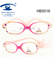 Free Shipping Brand Italy Designer Rubber Hinge With Spring Colored Kids Optical Frame