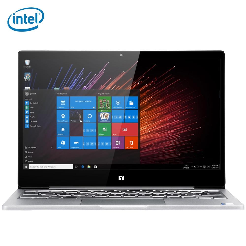 Xiaomi Air 12 ноутбук планшет на Windows 10 ''12,5 Intel Core M3-7Y30 двухъядерный ips экран 4 ГБ оперативной памяти ГБ 128 Гб SSD Bluetooth 4,1 тип-c