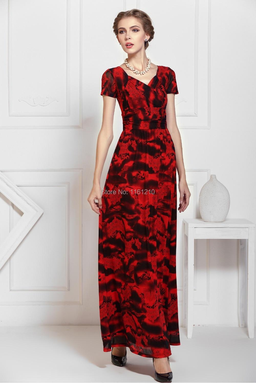 Wunderbar Red Partei Kleid Mit ärmeln Galerie - Brautkleider Ideen ...