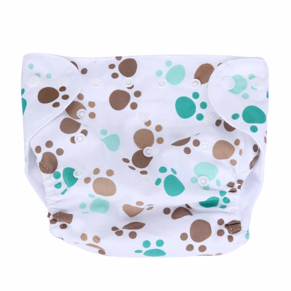 2015 летний для новорожденных тканевый подгузник Регулируемый многоразовый моющийся подгузник