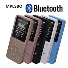 MPLSBO MP4 Bluetooth HiFi 8GB 16G 32GB MP3 MP4 Music Player 1.8″ TFT Screen Support Pedo Meter E-book FM Radio Voice Recorder