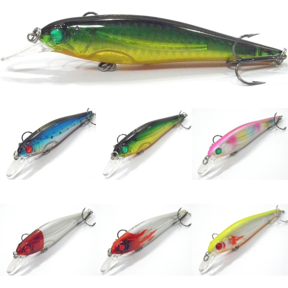 Fishing Lure Minnow Crankbait Hard Bait Fresh Water Medium Water Bass Walleye Crappie Minnow Fishing Tackle M111 1x japan pike fighter musky fishing lure floating minnow fresh water hard plastic baits 30g 160mm bass pike lure walleye crappie