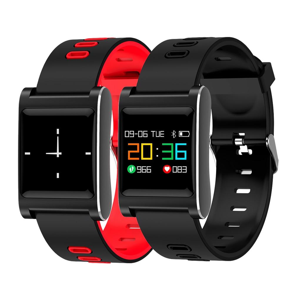 K88 Plus Smart Armband Blutdruck Armband Farbe Display IP68 Wasserdichte Fitness Tracker Band für Android IOS