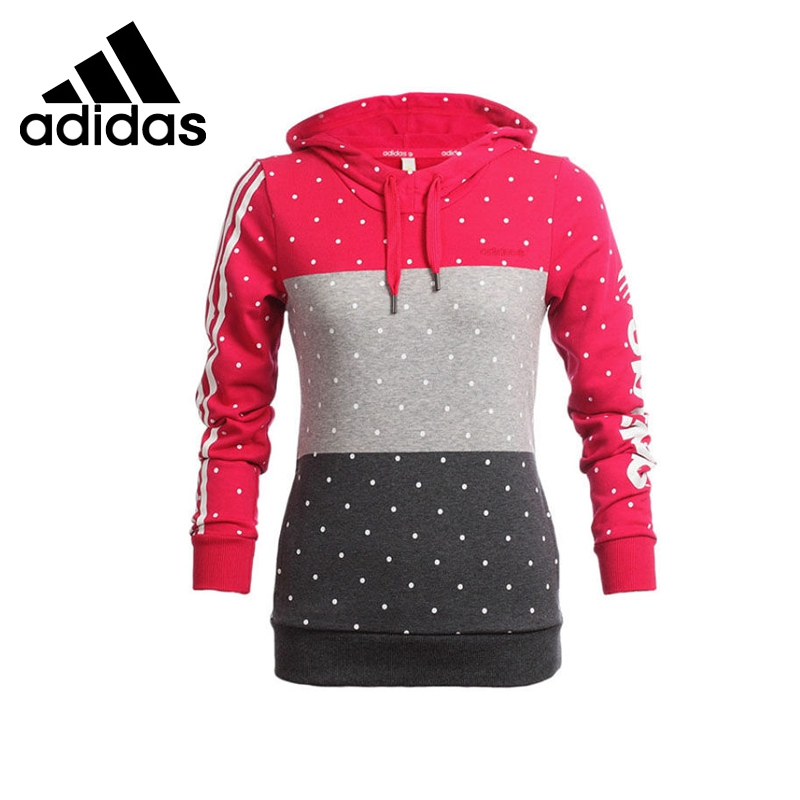 ФОТО Original  Adidas NEO Label Women's Patchwork Pullover Hoodies Sportswear