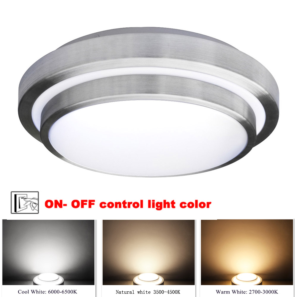 Jiawem LED ceiling lights 40W  Three color Led Lamp Modern led Lights indoor lighting for balcony (AC 100-240V)Jiawem LED ceiling lights 40W  Three color Led Lamp Modern led Lights indoor lighting for balcony (AC 100-240V)
