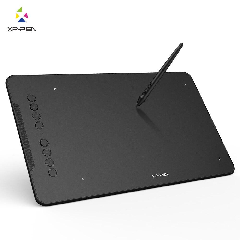 XP-Stylo Deco01 Graphique Dessin Tablet Numérique Peinture Tablet avec 8192 niveaux Pression Passive Stylo Stylet