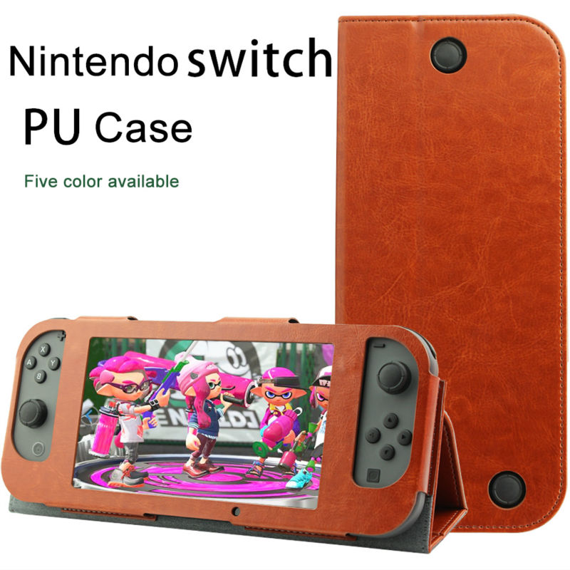 Kartice for Nintendo Switch Leather  Case, Handle Covers for Nintendo Switch