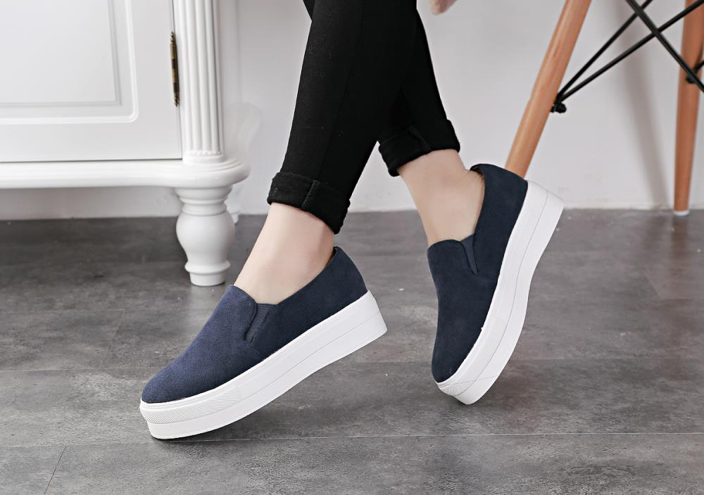 564161b3e7f women shoes woman sapatos femininos zapatos mujer tenis feminino women  flats casual shoes new arrive 2016 platform shoes wedges-in Women s Flats  from Shoes ...