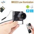 HQCAM CamHi IMX323 низкая illumination1080P Аудио Mini WI-FI IP Камера indoor Беспроводной видеонаблюдения безопасности Onvif TF карты