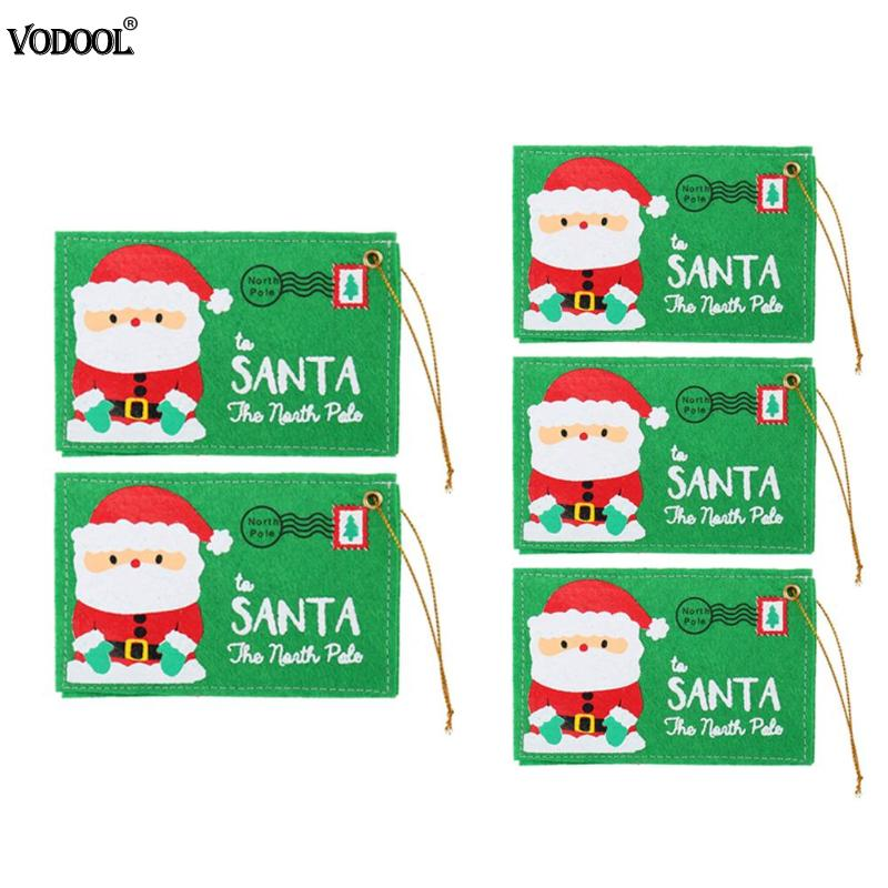 Christmas Santa Envelope Non woven Envelopes for Invitation Greeting