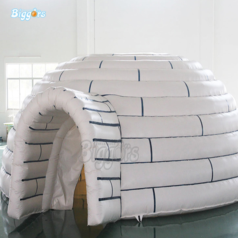 Inflatable event tent inflatable dome tent with blowers