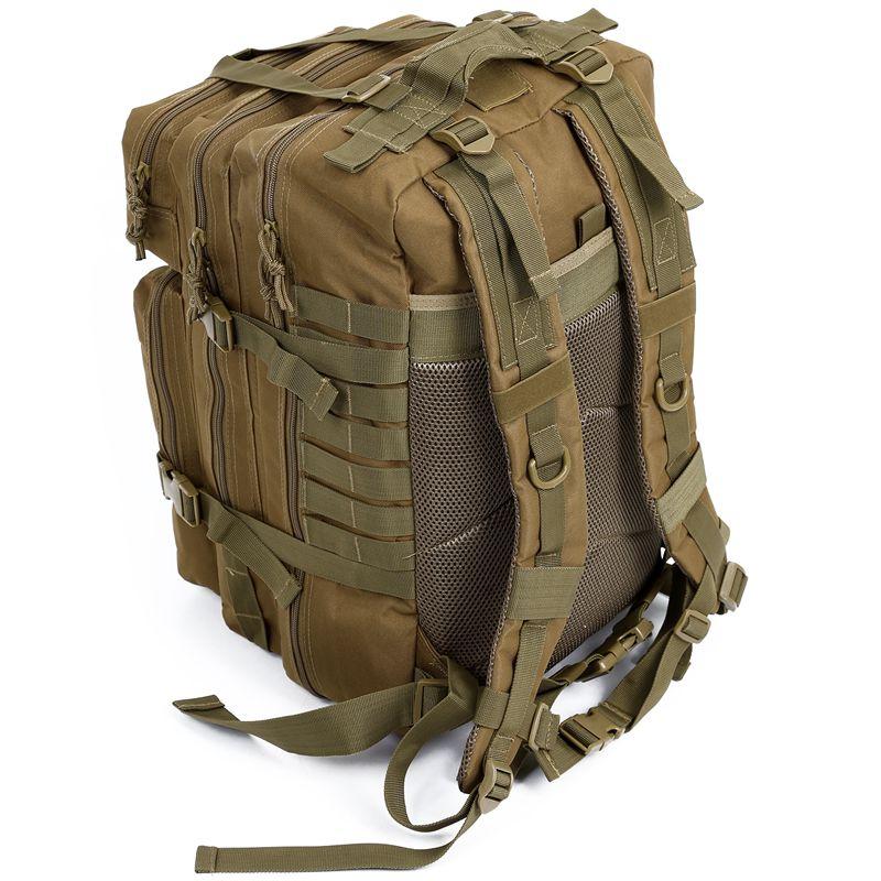 34L tactique assaut Pack sac à dos armée Molle étanche Bug Out sac petit sac à dos pour la randonnée en plein air Camping chasse (kaki)