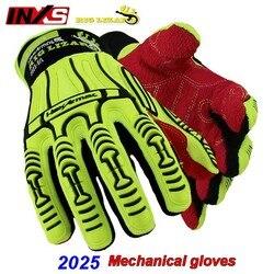 SAFETY-INXS 2025 rękawice mechaniczne odporne na uderzenia odporne na przecięcie rękawice ochronne odporne na przebicie odporność na olej trwałe rękawice robocze