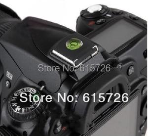 Image 2 - 100pcs/lot wholesale Spirit Level Hot Shoe Cover Protector for Camera