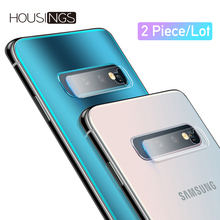 2pcs Camera Lens Film For Samsung S10 Plus Tempered Glass Galaxy S10e Protective Back Protector