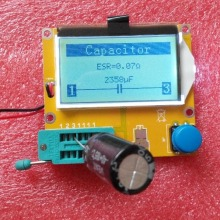 MG328 Транзистор тестер Конденсатор ESR индуктивность резистор метр NPN PNP Mosfet