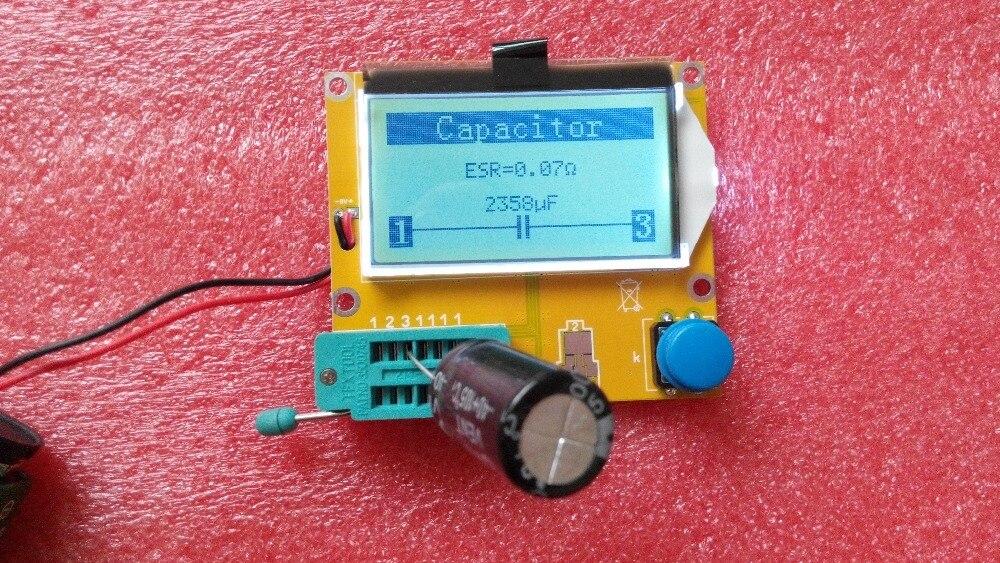 MG328 Transistor Testeur de Condensateur ESR Inductance Résistance Indicateur NPN PNP Mosfet