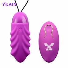 USB Перезаряжаемые Вибрационный яйца Беспроводной Дистанционное управление Пуля Вибратор Любовь яйцо взрослых Секс-игрушки продукты для Для женщин Для мужчин o70627