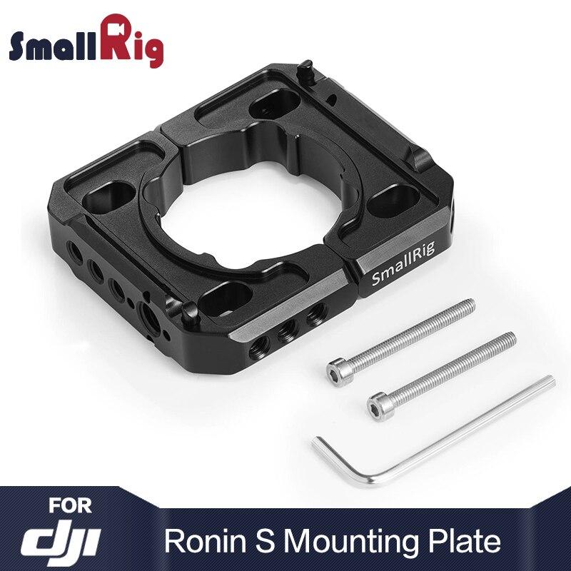 SmallRig Камера плиты монтажный зажим для DJI Ронин S карданного с 1/4 3/8 резьбовых отверстий для монитора микрофон приложить 2221