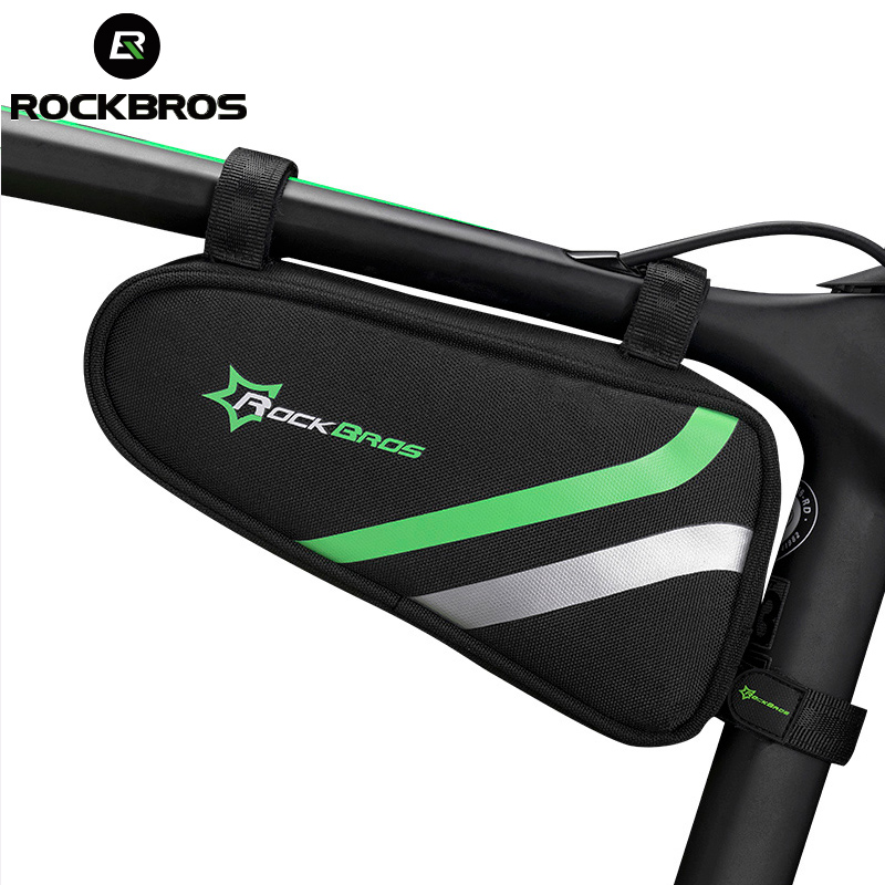 ROCKBROS Wasserdicht Radfahren Fahrrad Taschen MTB Rennrad Rahmen Vorne Dreieck Bike Rohr Taschen Regendicht Fahrrad Reparatur Werkzeug Pannier