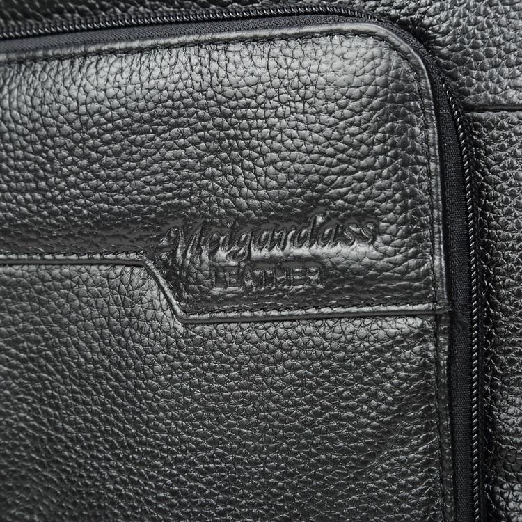 HTB10O6YCeuSBuNjy1Xcq6AYjFXai MEIGARDASS Genuine Leather Business Briefcase Men Travel Shoulder Messenger Bags Male Document Handbags Laptop Computer Bag