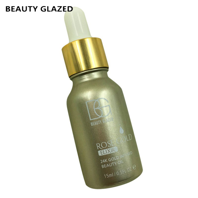 NEW 24k Rose Gold Elixir Radiating Moisturizer Face Care Essential Oil Makeup Primer Makeup Base beautiful beginnings vadesity conditioning oil moisturizer