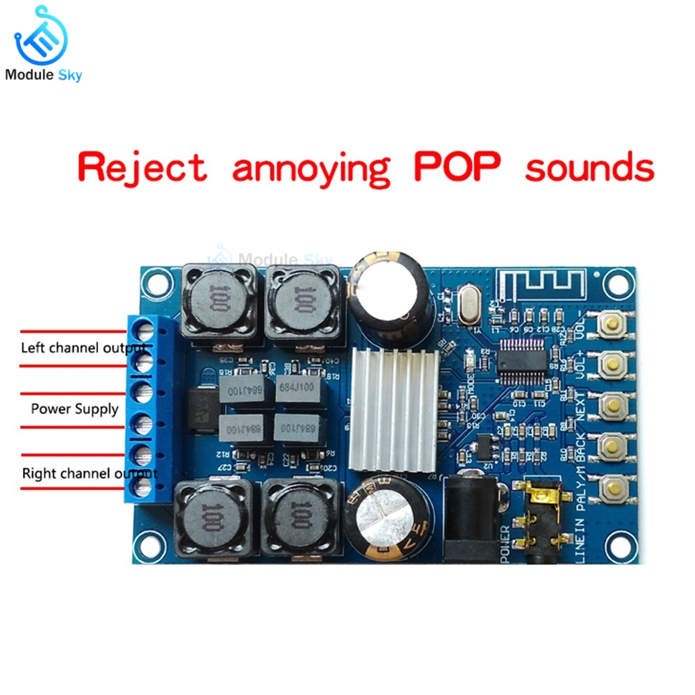 Operational Amplifier Chips Hifivv Audio Power Amplifier Board 2.0ch 3w Dc5v Input Moderate Price