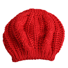 Fashion Winter Women Beret Warm Knitted Baggy Beanie Hat Pretty Comfortable Plai