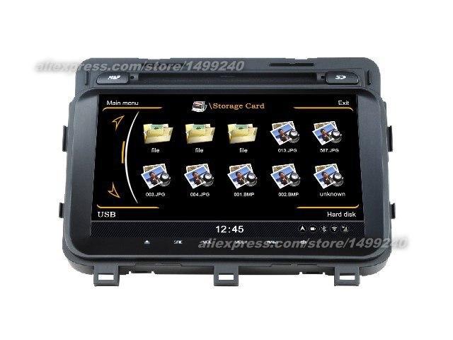 For KIA K5 2013~2014   Car GPS Navigation DVD Player Radio Stereo TV BT iPod 3G WIFI Multimedia System|stereo tv|gps navigation|navigation dvd - title=