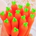 Jonvon Satone 30 stücke Nette Super Sprießen Cartoon Karotte Neutral Stift Gel Koreanische Student Schreibwaren 0,5 Wasser Stift Schule Liefert