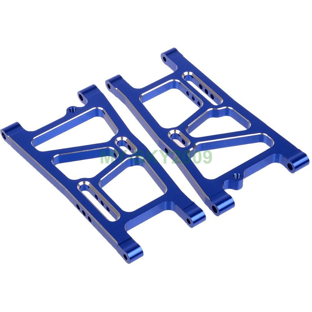 RC Model Car parts 081021 (81613) Blue Aluminum Rear Lower Suspension Arms 2p Fit HSP Redcat Himoto Racing daikin ftxb 50 c rxb 50 c