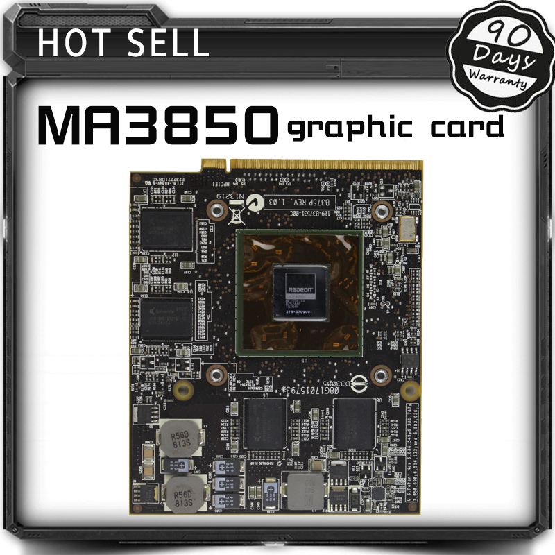 Original Video card For ASUS notebook MA3850 216-0709001  graphic card tested original graphic card for hp nx9420 nw9440 x1600 256mb ls 2821p video display card working well grade aaa