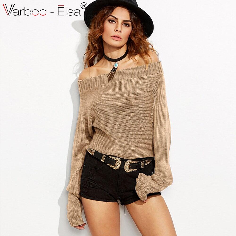 Aliexpress.com : Buy VARBOO_ELS 2017 Autumn Winter Short Sweater ...