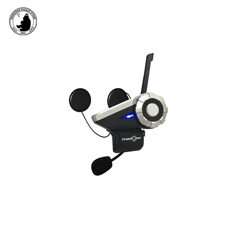 New Freedconn T-Rex Bluetooth Earphone Motorcycle Helmet Intercom Wireless Headset 1500m 8-Way Talkgroup System FM Radio factory price binmer 1000m waterproof wireless motorcycle helmet bluetooth 3 0 intercom headset fm us jy27 drop shipping