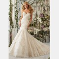 2016 el más nuevo adorable Sexy Back Zipper Organza Appliques con las perlas de novia vestidos boda con capilla de tren por encargo