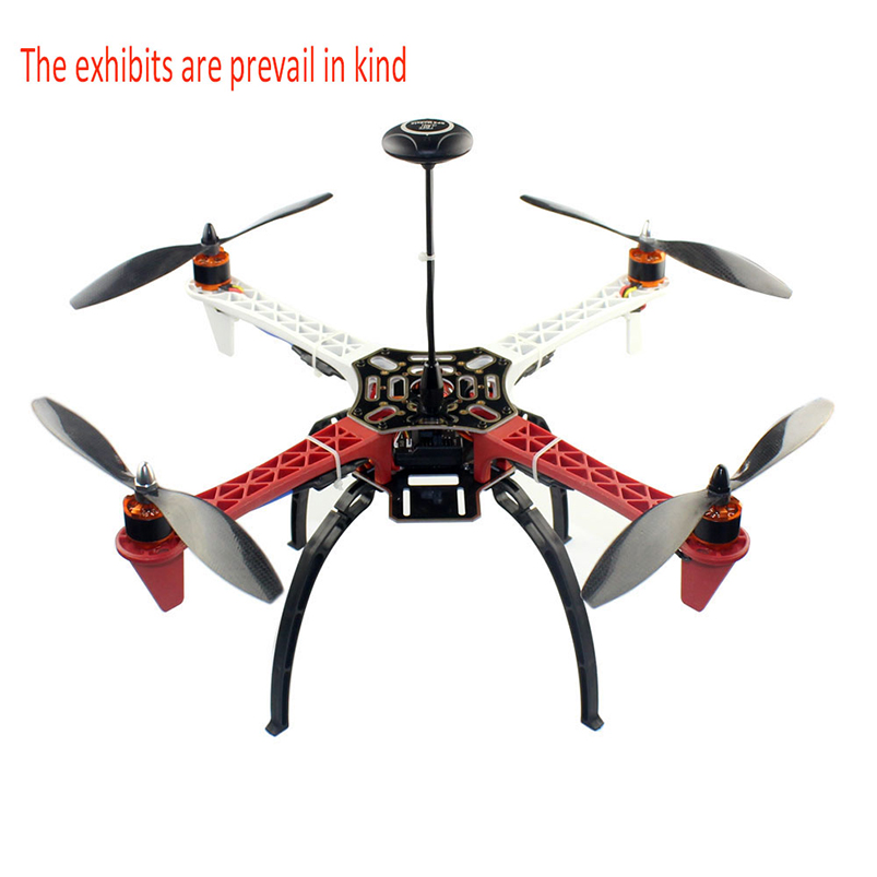 цена F02192-AE DIY FPV Drone Quadcopter 4-axle Aircraft Kit F450 450 Frame PXI PX4 Flight Control 920KV Motor GPS AT9S Transmitter