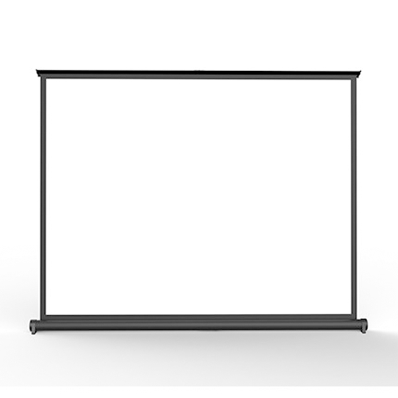 Portable 40 Inch 4:3 Hang/Desk/Table Screen Viewing Area Pull Down Matt White Easy Installtion for All Projectors Home Theater for tcl l40f3200b article lamp 40 down lj64 03029a lta400hm13 screen 1piece 60led 455mm 2pieces lot