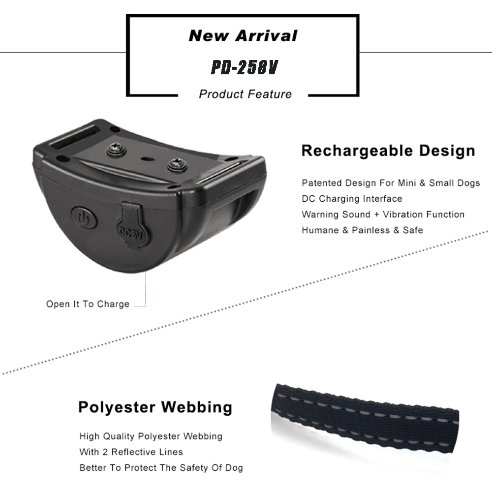 Image 3 - Rechargeable Anti Bark Collar vibration Bark collar humane no  shock dog vibration collar no bark collar vibrate dog bark stopBark  Deterrents
