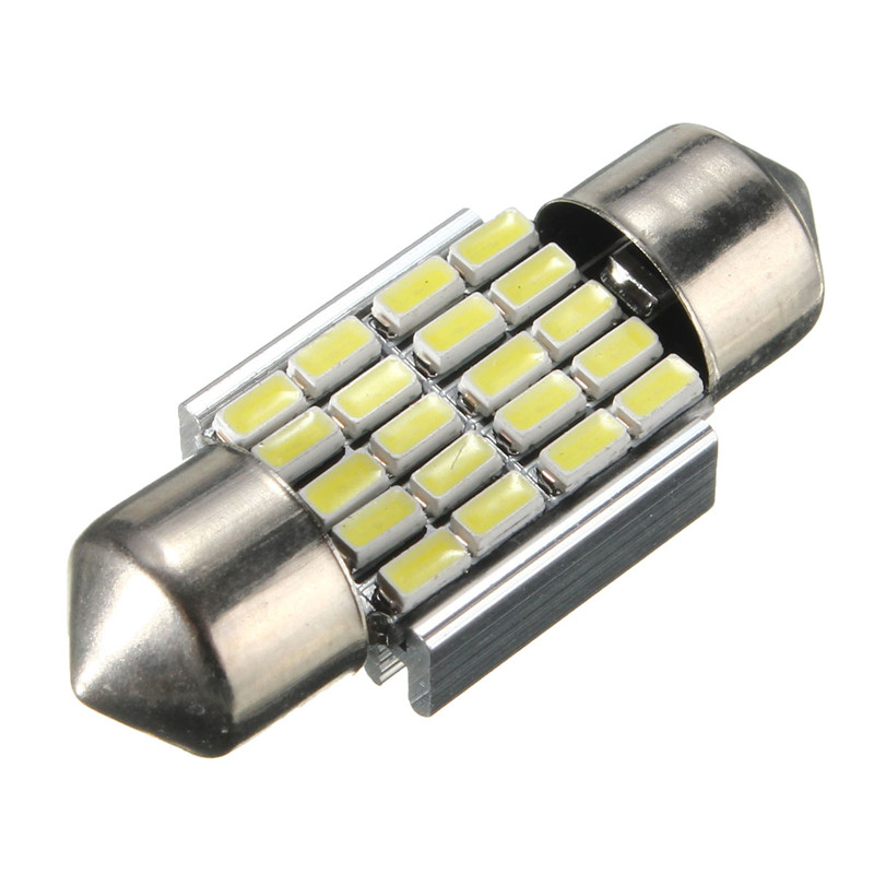 DC 12V 3014 20SMD 120LM 2.3W 30mm Car Auto LED Chip Festoon Map Dome Interior Light Bulbs Lamp White 6000K Car Styling 2pcs 12v 31mm 36mm 39mm 41mm canbus led auto festoon light error free interior doom lamp car styling for volvo bmw audi benz