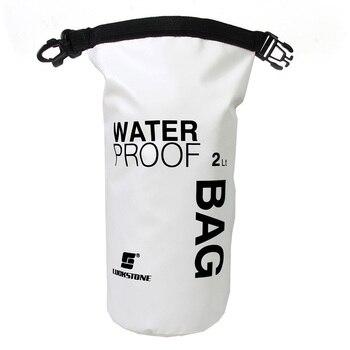 2L do nurkowania na świeżym powietrzu do przechowywania kompresji wodoodporna torba na sucho torba dla człowieka kobiet pływanie Rafting kajak Zestawy podróżne