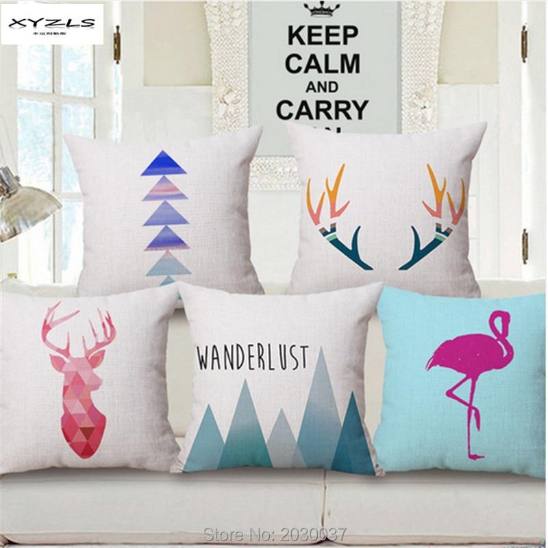 ᐂXyzls Europa estilo simple decorativo Cojines para el hogar sofá ...