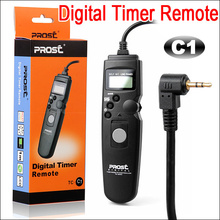 PROST TC-C1 Intervalometer Timer Distant Twine Shutter Launch TC-C1 for Canon 60D 600D 1000D 550D 450D 400D 300D 350D Digital camera