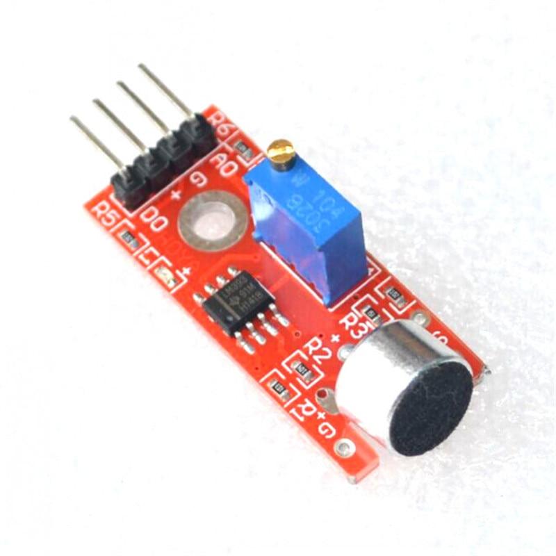 High Sensitivity Sound Microphone Sensor Detection Module For Arduino AVR PIC KY-037 starter learning high quality sensor module kit set for arduino mega2560 leonardo