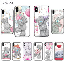 Lavaza Me A Você Tatty Teddy Bear Silicone Suave Caso Capa para o iPhone Da Apple 6 6 S 7 8 Plus casos 5 5S SE X XS MAX XR(China)