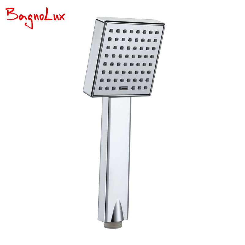 Bagnolux High Quality New Super Booster Water Saving Hand Held Rainfall Shower Head For Bathroom Accessories Showerhead HS11011