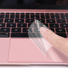 Jelas Tinggi Touchpad Film Pelindung Sticker Protector untuk Macbook Air Pro 13.3 15 Retina Touch Bar 12 Touch Pad laptop(China)