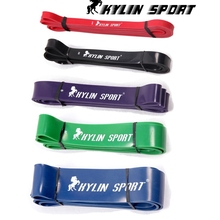 Set of 5 latex Crossfit resistance bands fitness body gym power training powerlifting pull up red for wholesale free shipping