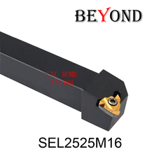 2016 Sale new Turning Tools Sel2525m16,thread Turning Tool Factory Outlets, For 16 Er Insert The Lather,boring Bar,cnc,machine